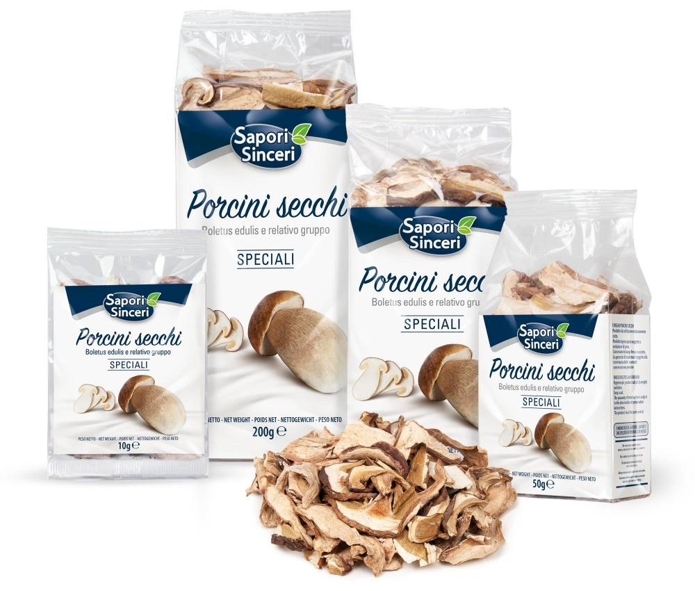 "Dried Porcini Mushrooms ""Speciali"""
